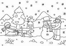 Malvorlagen Winter Gratis Winter Ausmalbilder Zum Drucken Ausmalbilder Ausmalen