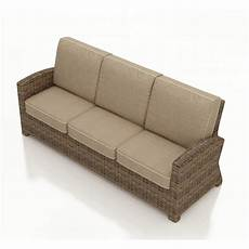 Outdoor Sofa Cushions For Patio Furniture Png Image by Forever Patio Cypress Wicker Sofa Replacement Cushion