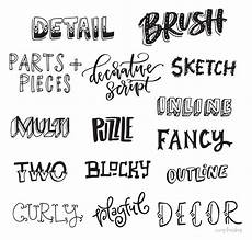 Lettering Font Style Freebie Hand Lettering Style Inspiration Guide Every