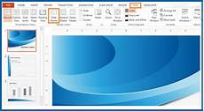 How To Create Template For Powerpoint How To Edit The Slide Master Of A Presentation Template