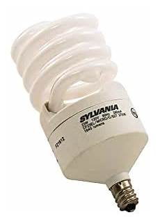 Instant On Cfl Light Bulbs Sylvania 2 Pack 23 Watt 100w Spiral Candelabra Base Soft