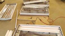 How To Rewire A Fluorescent Light Howto Modify A Fluorescent Light Fixture To Work With