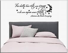 adesivi da parete da letto decorazioni adesive murali frase letto