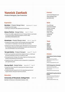 Resume Ux Designer A Ux Designer Resume Hiring Managers Will Love Uxfol Io Blog