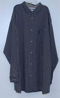 columbia sportswear mens sleeve shirt plaid 2xl 3x