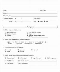 Questionaire Templates Questionnaire Template 9 Free Word Pdf Documents