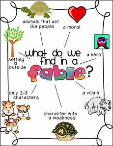 Fable Anchor Chart 2nd Grade Monday Made It Teaching Fables And More Reading