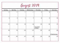 Calendar August August 2019 Calendar Nz National Holidays Net Market