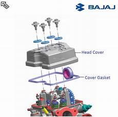 Light Cylinder Pulsar Bajaj Pulsar Rs200 Dtsi Cylinder Head Cover
