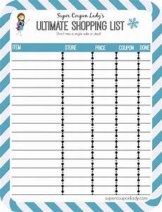 Coupon Chart Free Printables Budget Chart Dinner Planner And Ultimate