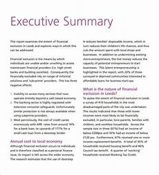 Executive Summary Report Own Executive Report Template Free Amp Premium Templates