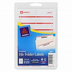 Template For File Labels Avery Print Or Write File Folder Labels 11 16 X 3 7 16