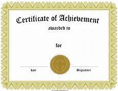 Record Of Achievement Template Free Customizable Certificate Of Achievement