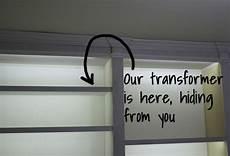 Under Cabinet Lighting Transformer Location Led To Light Book Shelf Diy Tutorials Pinterest