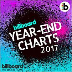 Billboard Year End Charts 1999 Billboard Year End 100 Singles Chart 2017 Music Zone