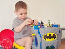 Batman Potty Our Adventures In Potty Training Out With The Cloth And
