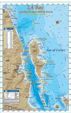 Baja Charts La Bay Baja Directions