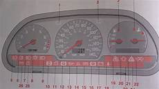 Volvo Position Light Warning Volvo V40 Amp S40 Dashboard Warning Lights Amp Symbols Youtube