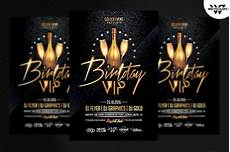 Birthday Vip Flyer Template Flyer Templates Creative