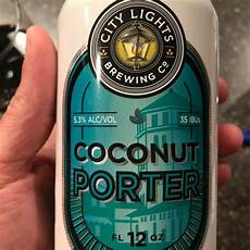 City Lights Coconut Porter Coconut Porter City Lights Brewing Company Untappd