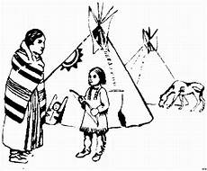 indianer mit pferd ausmalbild malvorlage gemischt