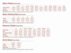 Chest Wader Size Chart The Naturalist S Angle Gear Review Redington Sonic Pro