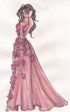 how to present fashion sketches to reach more and