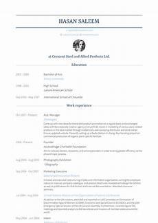Asst Manager Resume Asst Manager Resume Samples And Templates Visualcv