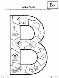 letter b puzzle printable myteachingstation com