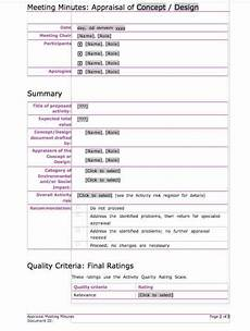 Business Meeting Minutes Template Free 11 Meeting Minutes Templates Word Excel Formats