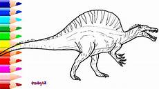 spinosaurus coloring pages colorpaints co