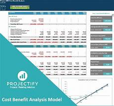 Cost Model Template Generic Cost Benefit Analysis Excel Model Template Eloquens