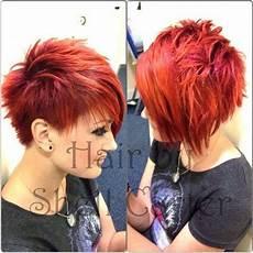 kurzhaarfrisuren frauen rote haare auff 228 llige kurzhaarfrisuren f 252 r frauen mit roten haaren