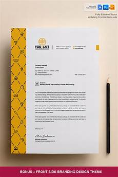 Creative Letterhead Samples Creative Letterhead Template Corporate Identity Template