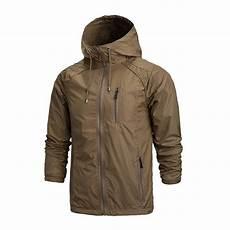 mens outdoor jackets coats mens outdoor jacket hooded waterproof windbreaker sports