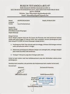 surat edaran polisitidur depok maharaja cluster