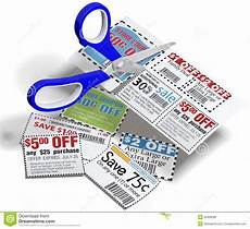 Coupon Images Coupon Scissors Cut Out Sale Coupons Stock Illustration