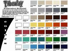 Ccp Gelcoat Color Chart Boat Hull Colors Special Colors Gig Harbor Boat Works