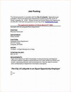 Internal Resume Template Internal Job Posting Template Merrychristmaswishes Info