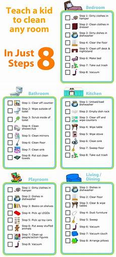 Cleaning Checklist By Room Free Printable Room Cleaning Checklists The Trip Clip
