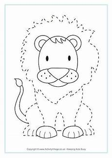 Animal Patterns To Trace African Animal Printables