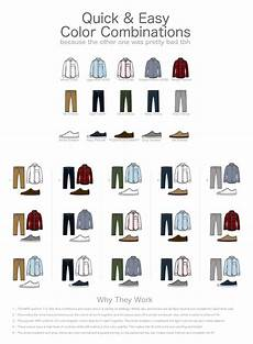 Suit Color Matching Chart How To Match Clothes For Guys Amp The Clothes Color Matching