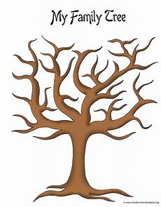 Small Family Tree Template Make A Family Tree Easily With These Free Ancestry Charts