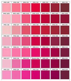 Pink Color Chart Pink Color Chart Color Palette Pink Pink Color Chart