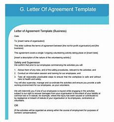 Letters Of Agreement Templates Free 16 Letter Of Agreement Templates In Pdf Ms Word