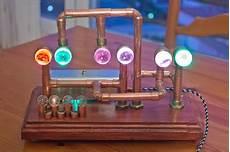 diy projects proyectos arduino steunk chromatic clock arduinomonday