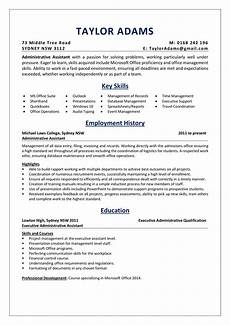 Administrative Assistant Resume Samples An Administrative Assistant Resume Sample Absolutely Free