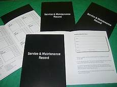 Car Service Record Book Kia Service History Book Amp Maintenance Record Log 163 2 99