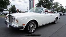 bentley corniche convertible 1979 rolls royce corniche convertible start up exhaust