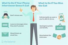 Should I Call After An Interview What To Do If You Miss A Job Interview Call